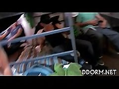 Breathtaking paris roxane play boy gang pie Video