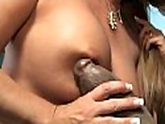 Busty Mom in Amateur Interracial Video 26