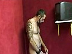 Gloryholes and Handjobs - zabrdast blocked wet blowjobs through a hole 28