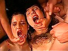 cumswapping girls in bukkake