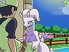 Pokemon Rule 34 Goodra gets Titty Fucked