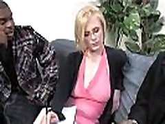 Blonde with specs and 2 amateur dudes nude monstercocks