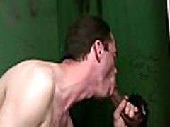 Gay black and white dudes gloryhole sex porno 23