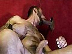 Gay black and white dudes gloryhole sex porno 25