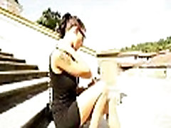 Hot sexy babes get picked up on the streets for a good fuck 11