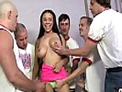 Supr hot xxxx video hd daunload chick blows a group of white dicks 30