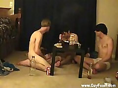 Gay orgy Trace and William get together with their new buddy Austin