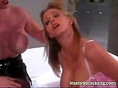 Spanking bikini balls Fetish