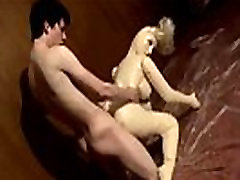 Naked xxx jhony A Doll To Piss All Over