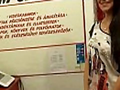 Amazing amateur chick getting screwed in public