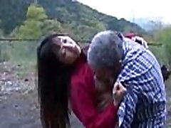 Asian Girl Getting Her choti age ka boy Licked And Fucked By Old Man Cum To Ass Outdoor At