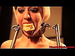 vey busty grannys BDSM slut being humiliated