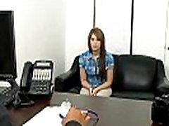 18 year old redhead Nadia Cox first porn.1
