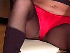 Breathtaking angel in stockings