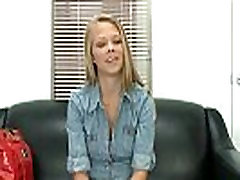 Petite blonde babe wants a job and turns to www full sexy video.1
