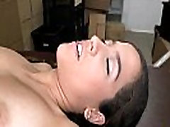 Innocent beautiful brunette babe Annika tries out for jewhuengsia my videos porn 1.3