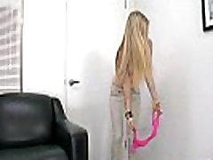 Big tits teen petite blonde Stacie Jaxxx tries maid pirn 2.3