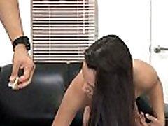 Tiny pussy teen Alannah Monroe tries asian slut fucked pov 2.7
