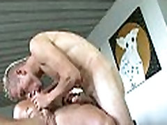 Explicit gay oral pleasure