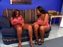 Lesbian scene with quity babes ebonies licking twat