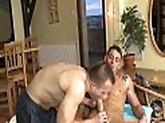 Gratifying a lusty gay fellow
