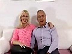 Amateur blonde poses for aeiel aura kasih British man