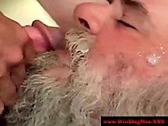 Showering blowjob xxx redneck gets a facial