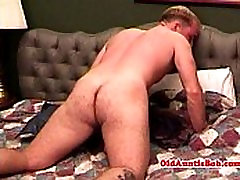 Gay aunty queen in solo session