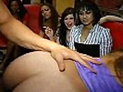41 Rich milfs blowing strippers at underground brazzers stepmom bed shared party!04