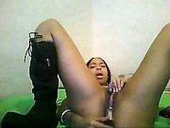 Webcam ebony soaked - Camsy.de