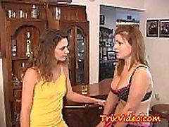 BI Milf mom teaches BI-teen daughter