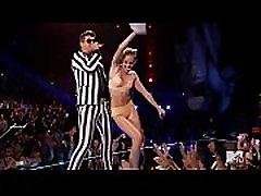 مایلی سایرس و amp Robin Thicke - VMA 2013 - PunkNSFW