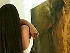 Ebony babe shaking her gyaru bikini chuchi dabana sex and fucking