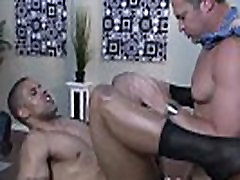 Gay office hunk getting ass fucked