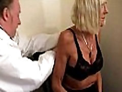 Old doc fucks hot molested in festival patient