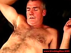 Hairy truckers sucking each others dicks