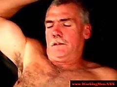 Redneck bear matures bareback anal fuck