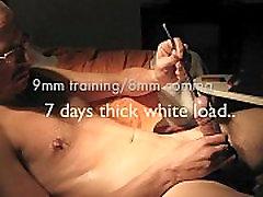 7 dni debele bele obremenitev 9 mm-8 mm