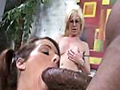 Monster black cock bangs my moms white pussy 18