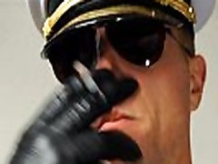 CAPTAIN OFFICER SMOKE craempie panty SPITS ON YOU - 104