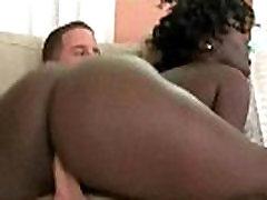 Round Ebony Ass
