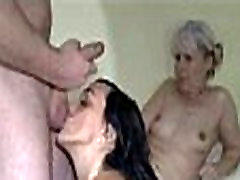 Olg Naughty Granny and young