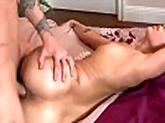 Sexy Black Girl With Round Ass Fucks A White Guy