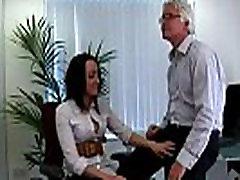 Group of British indan lesbin girls punishing office perv