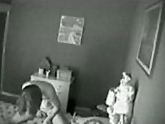Hidden cam catches masturbation of my ten cleanings on bed