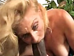 Mature MILF takes on big black cock 20
