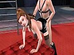 Hot 3D koil kolkta sex brunette babe gets fucked doggystyle