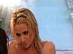 Exclusive lezzie love in the shower