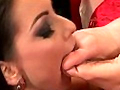 Babes indulge in sexy secs arp worship and toe sucking action