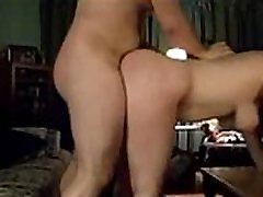 Chubby wife fucked on real homemade